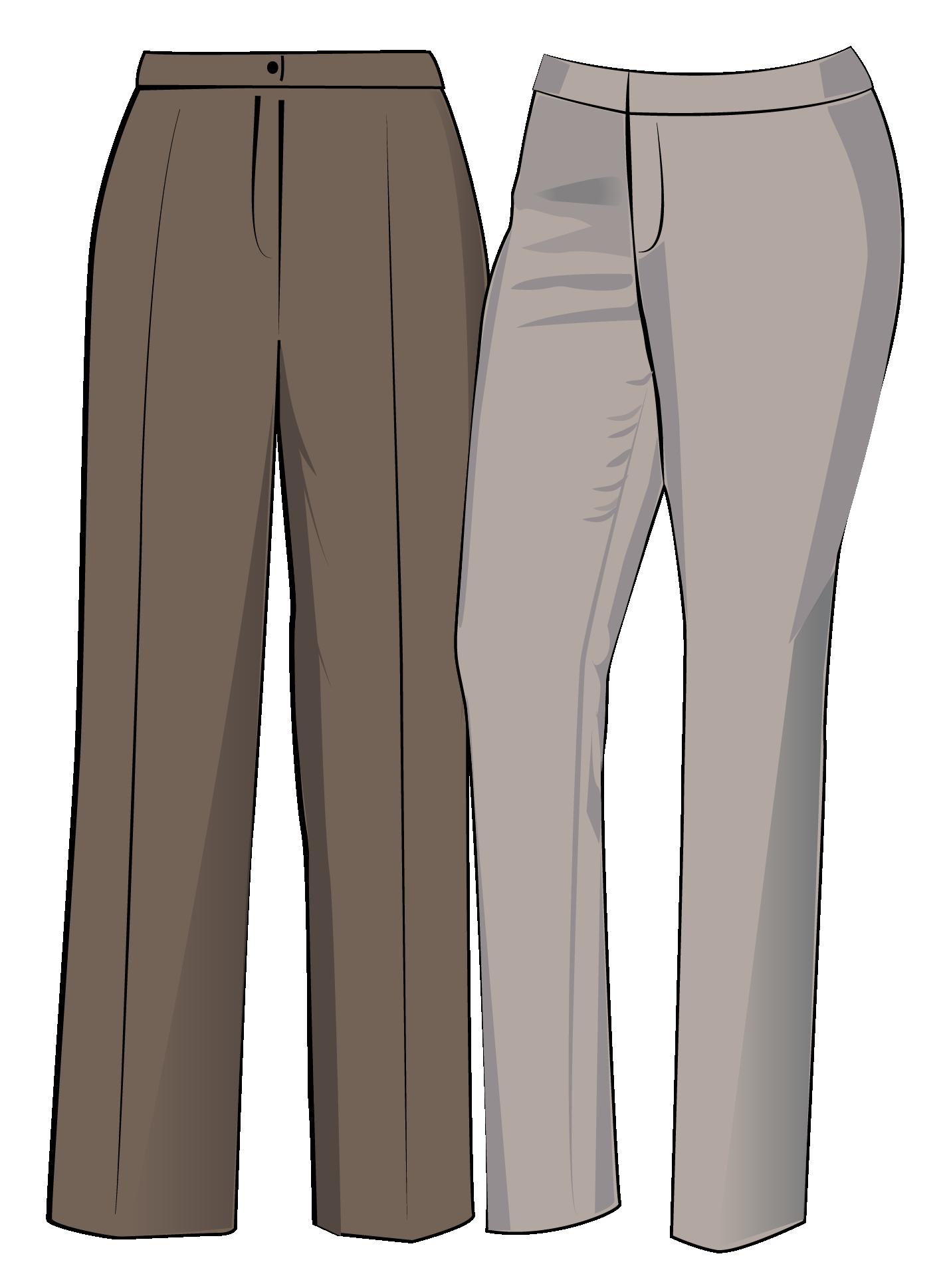 Простые выкройки женских брюк на лето | шьём | Постила | 1937x1425